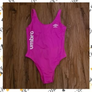 Umbro Large Pink Swimsuit   Pink Bathing Suit   Summer Sexy Swimsuit